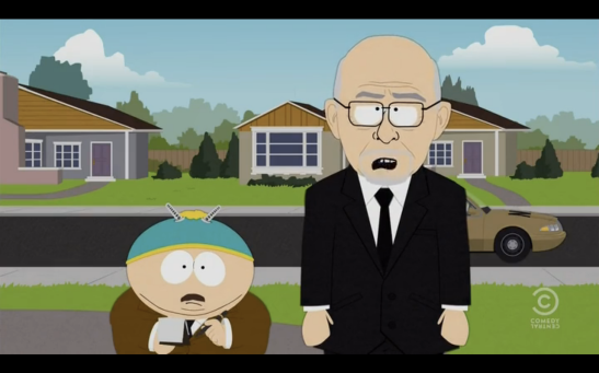 South Park - Let Go, Let Gov: NSA Monologue